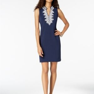 Charter Club Embellished Shift Dress NWT